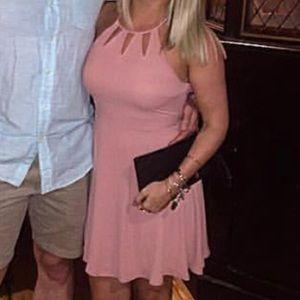 Light Pink Dress From Express